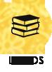 Livros(aparece ao passar o mouse)