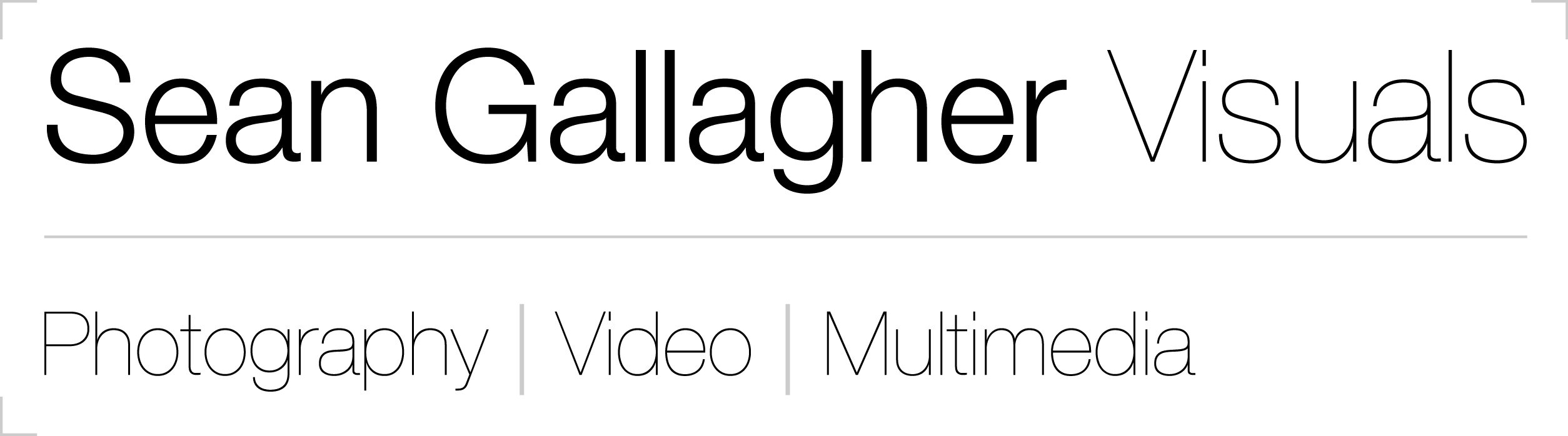 Sean Gallagher | Photography, Video & Multimedia