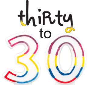 thirty to 30
