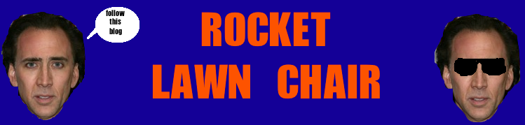 Rocket Lawn Chair