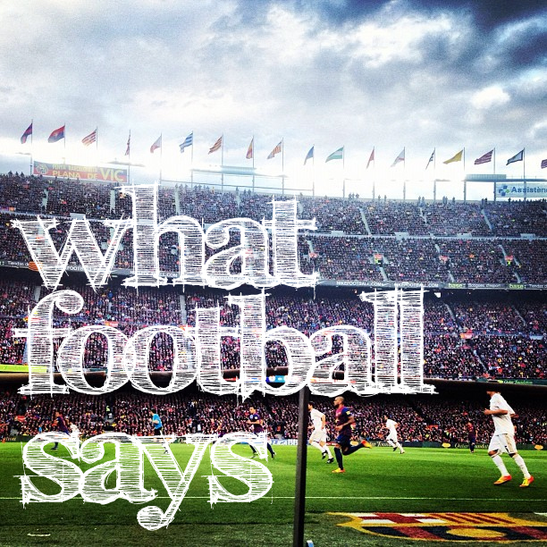 What Football Says