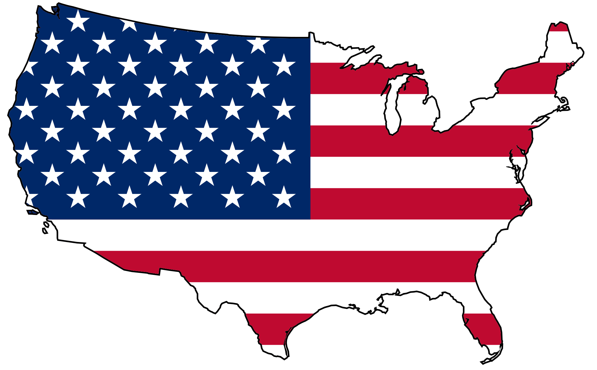 City of Chicago Map of the United States