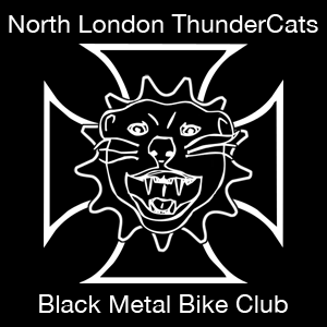 North London ThunderCats Black Metal Bike Club