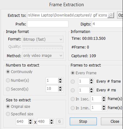 Problem with capturing frames. - KMPlayerㅣForum