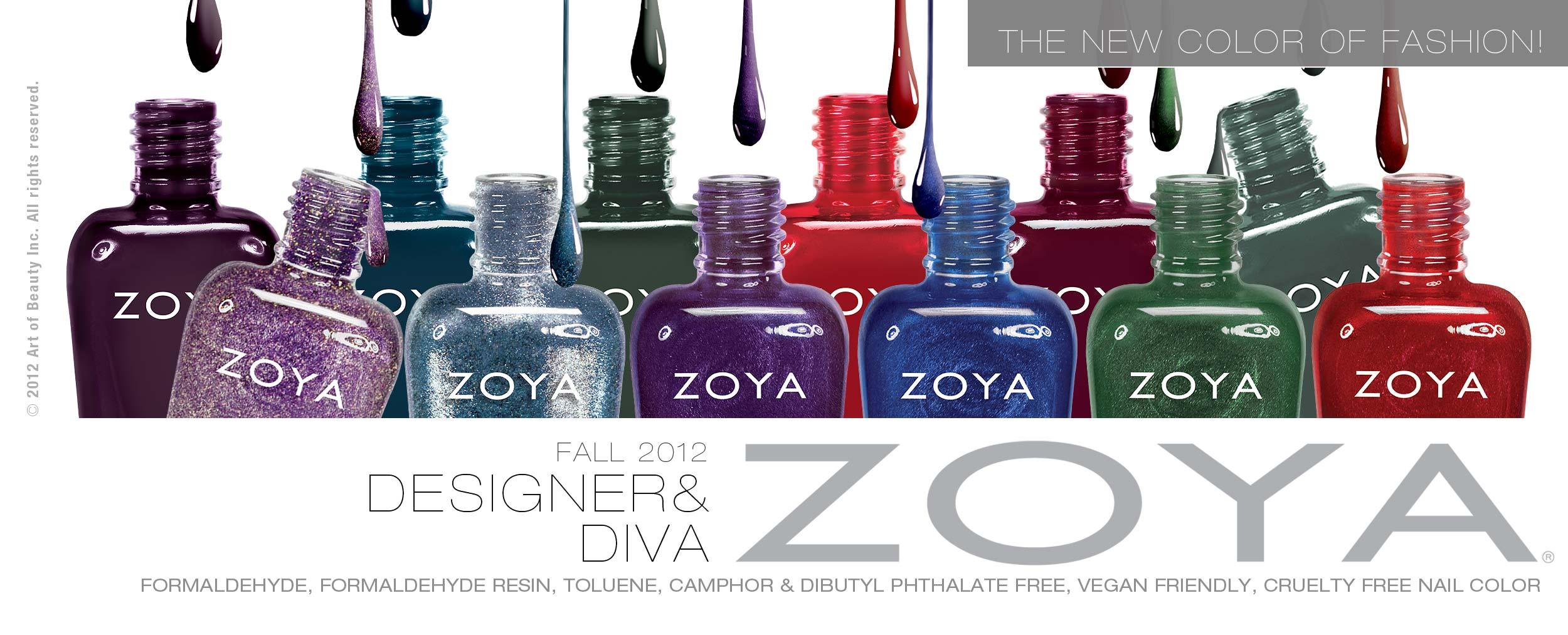 Zoya Nail Polish Logo 57