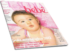 Clique para ler a revista Cláudia Bebê