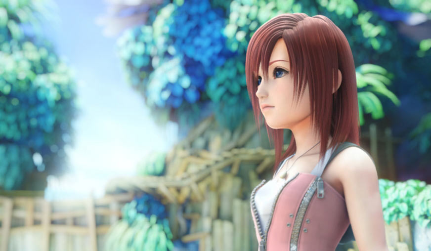 Kingdom hearts kairi