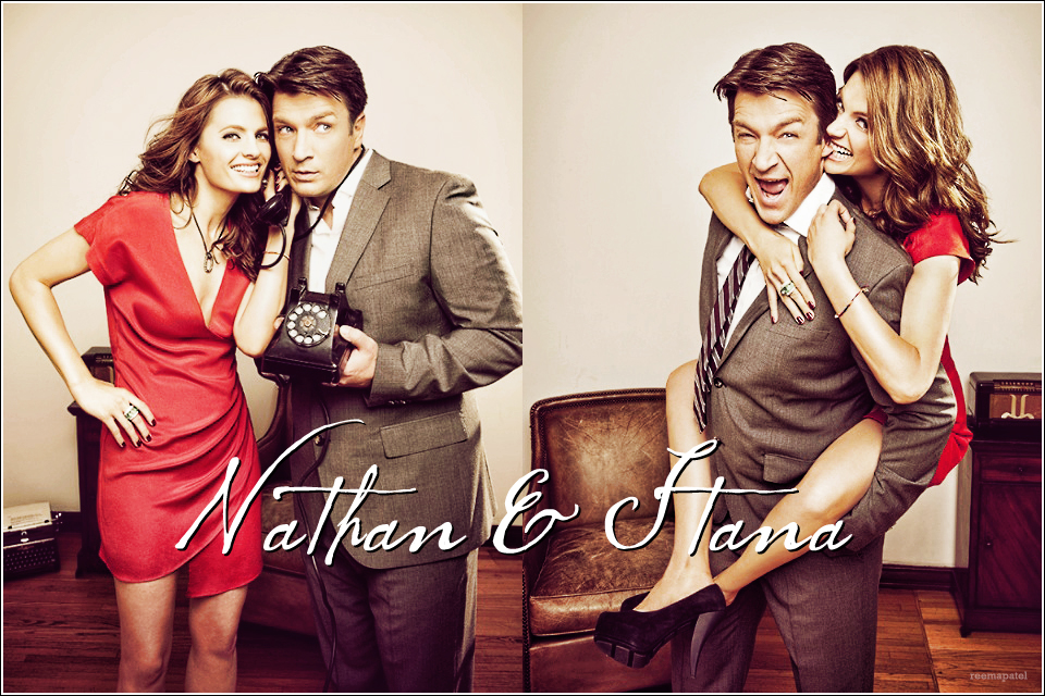 castle nathan fillion amp stana katic 1 because that
