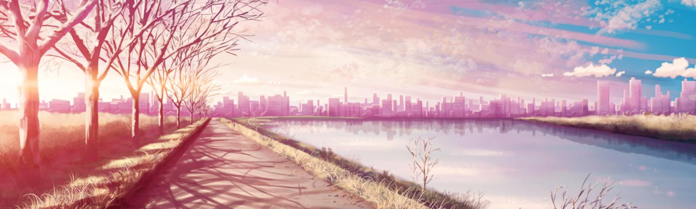 anime scenery headers tumblr