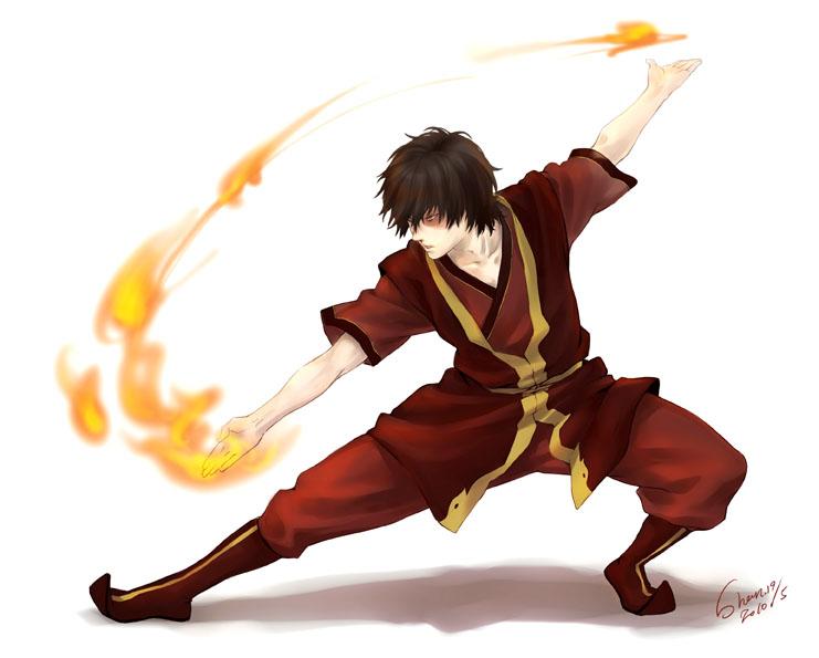 Zuko from Avatar: Legend of Aang
