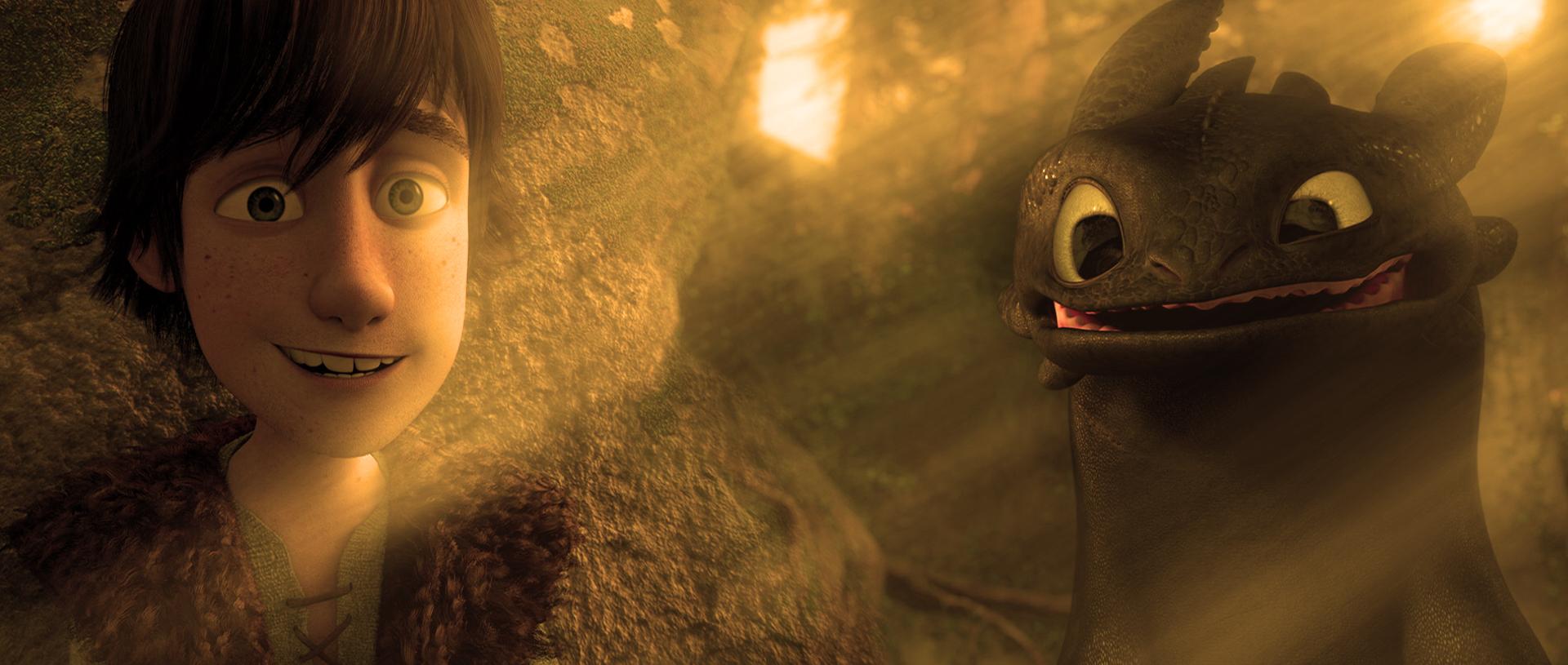 Смотреть мультфильм Драконы: Подарок ночной фурии онлайн в хорошем 80