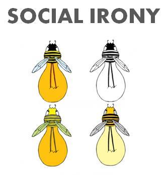 SOCIAL IRONY