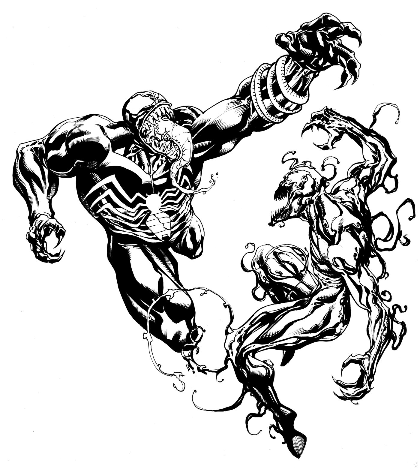 Venom Coloring Pages Lego Venom Spider Marvel Heroes: DeathValley