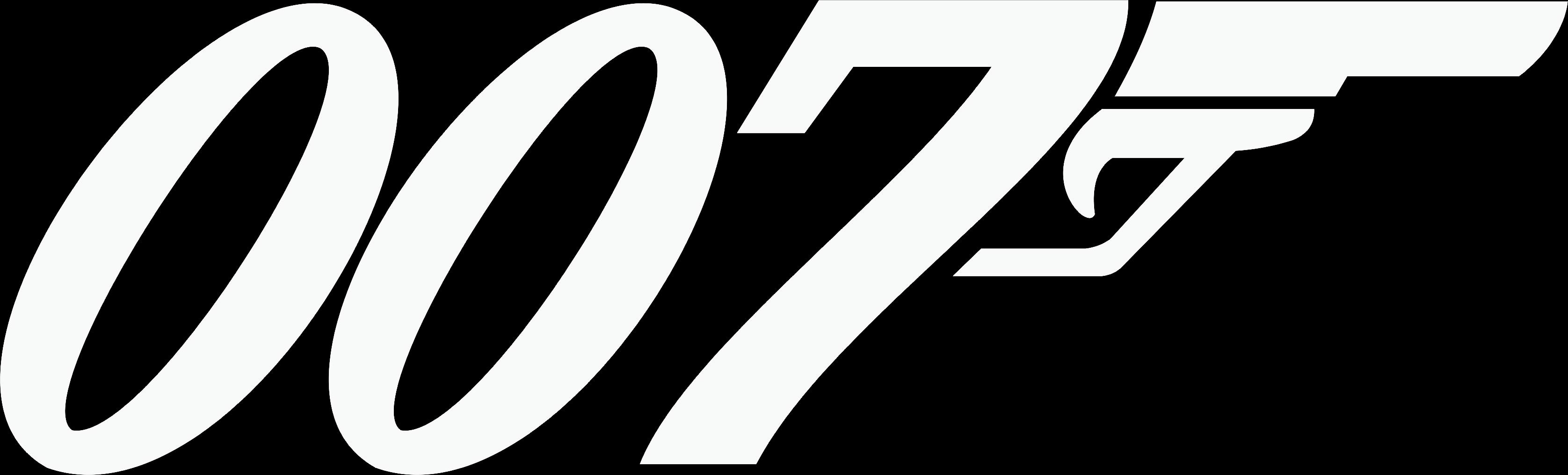 James Bond Theme...007 Logo White