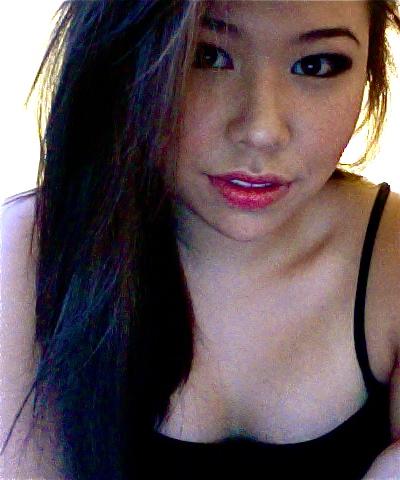 Sexy half asian half black woman, short dress xxx