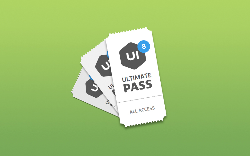 UI8 Ultimate Pass