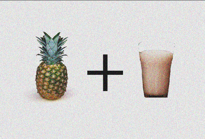 Pineapple and Milk