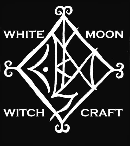 White Moon Witchcraft Spell Bottle For Protection And Blessing Of A