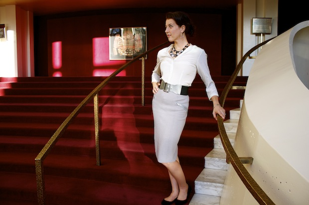 Lisette Oropesa, Picture taken at the Metropolitan Opera