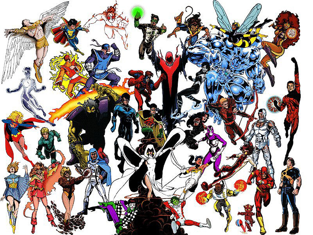 new teen titans generations Teen Titans of The Multiverse. Where the League lead we once followed, ...