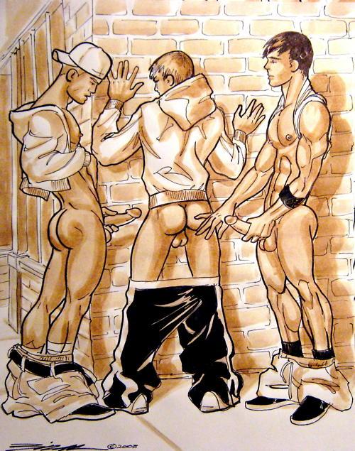 gay cartoon castration tumblr