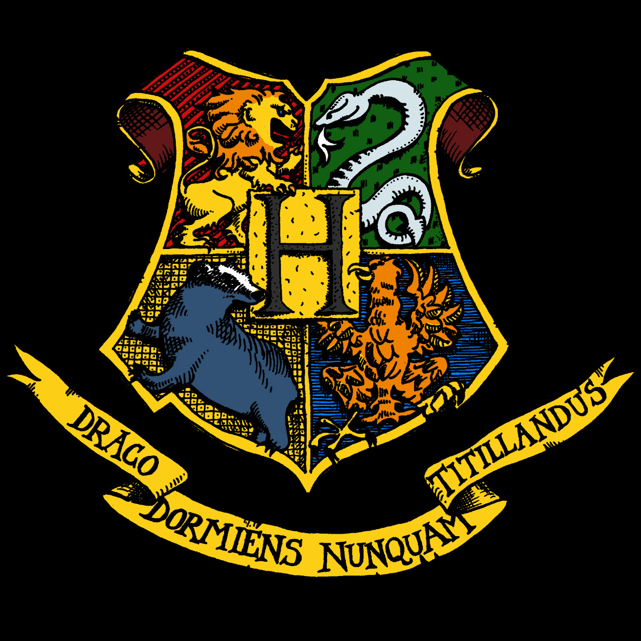 Marathon Poster Ideas Hogwarts+Flag Hogwarts...