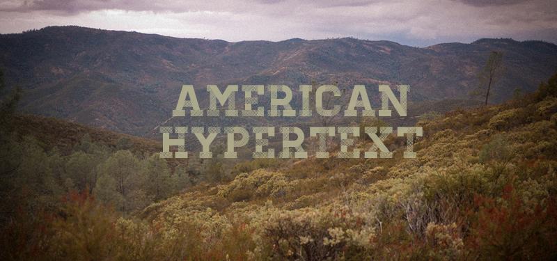 American Hypertext