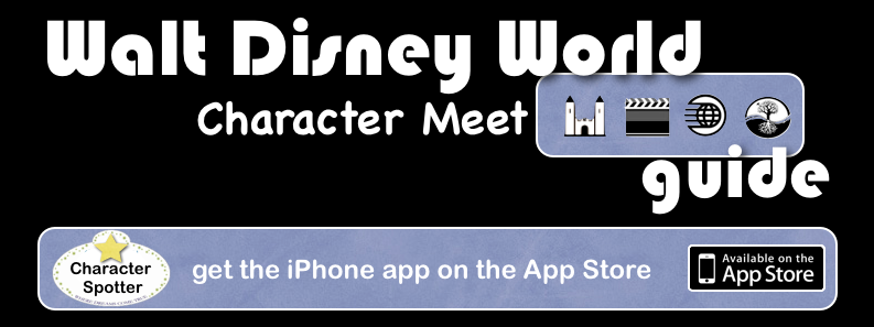 WDW Characters Guide