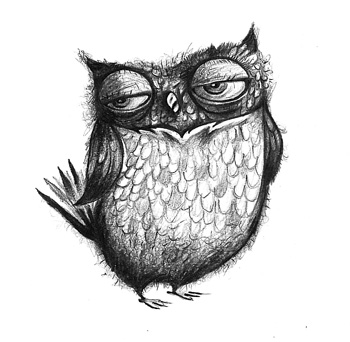 Shadder your lungs for Cool drawings of owls